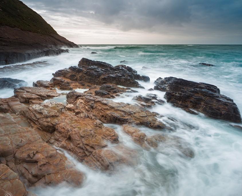 Incoming Tide | Bude, Cornwall, UK