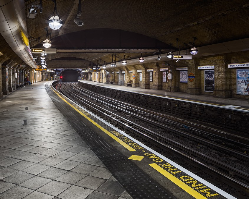 Mind the Gap | Great Portland Street Station, London, UK