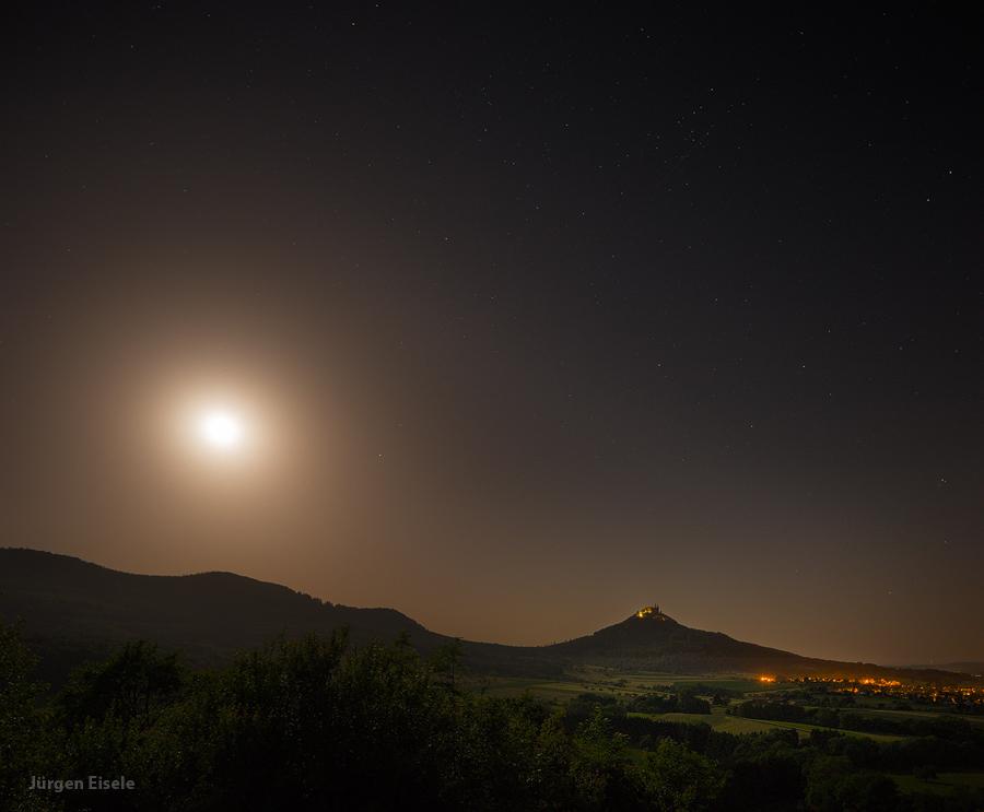 Mondlicht | Hechingen-Boll, BW, Deutschland