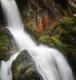 Triberger Wasserfall | Detailaufnahme am oberen Fall