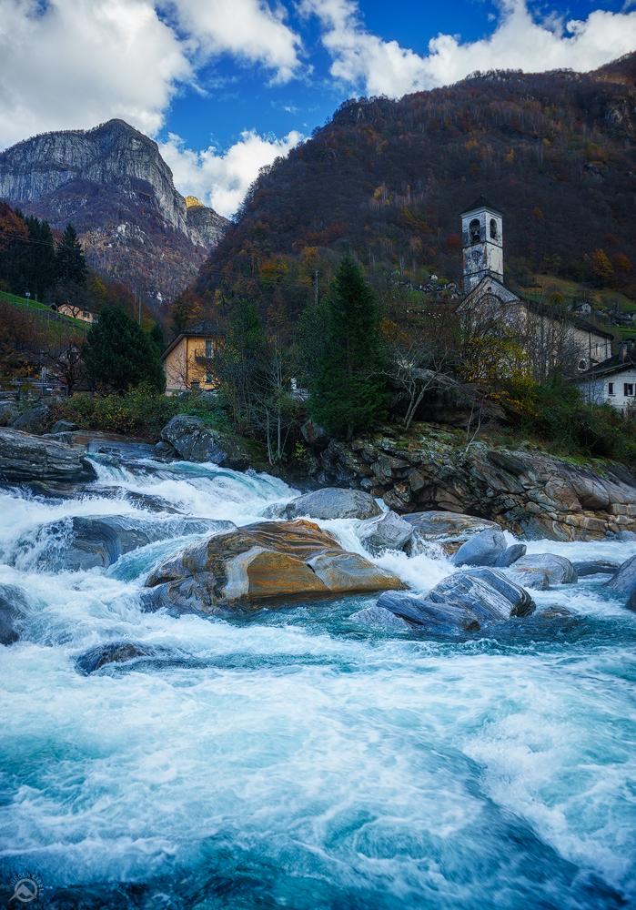 Lavertezzo Valle Verzasca, Tessin, Schweiz