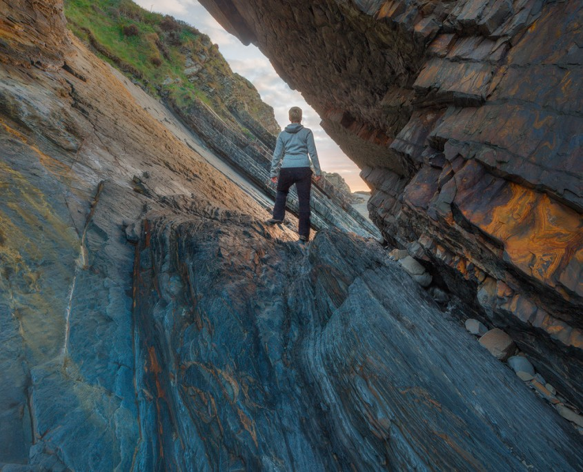 Exit to Sunset | Hartland Quay, Devon, UK