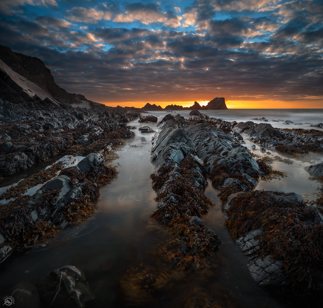 Towards Sunset | Hartland Quay, Devon, UK