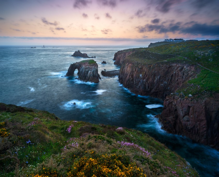 Land's End in Purple | Land's End, Cornwall, England, UK