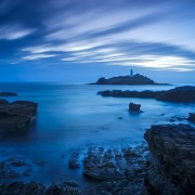 Blue Hour at Godrevy | Godrevy Lighthouse, Cornwall, England, UK
