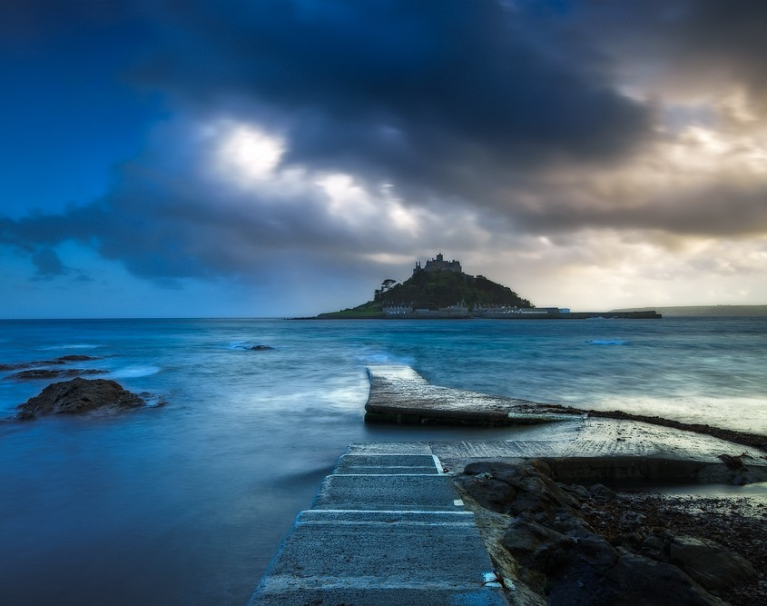 Shades of Blue | St. Michael's Mount, Marazion, Cornwall, England, UK