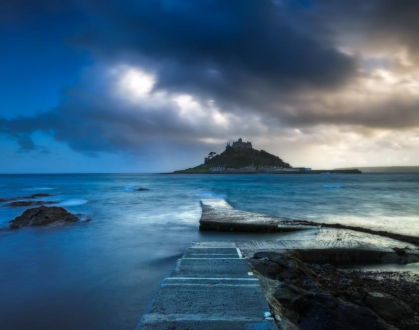 Shades of Blue | St. Michael's Mount, Marazion, Cornwall, England, UK