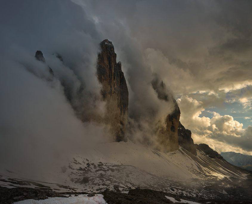 Low clouds | Drei Zinnen, Südtirol, Italien