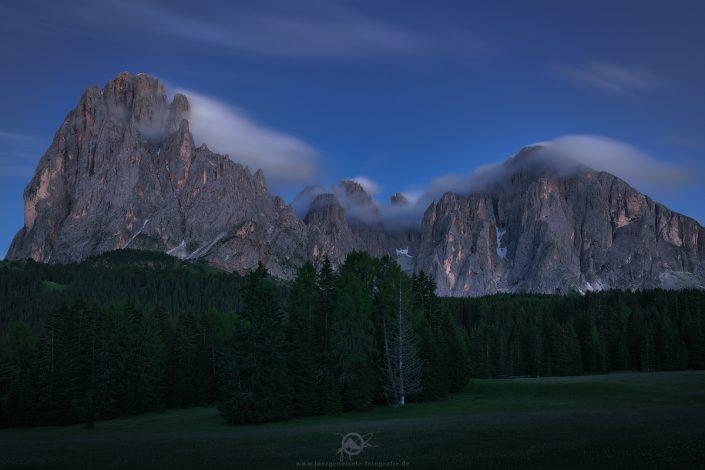 Dolomites in blue | St. Christina, Südtirol, Italien