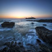 Godrevy Sunset | Godrevy Lighthouse, Cornwall, England, UK